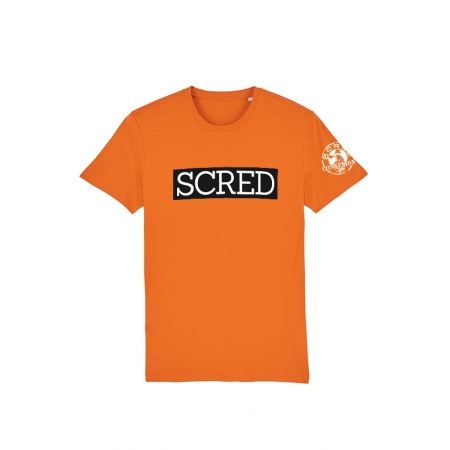Tshirt Scred Orange Scred Typo