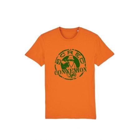 Tshirt Scred Orange Classico Vert