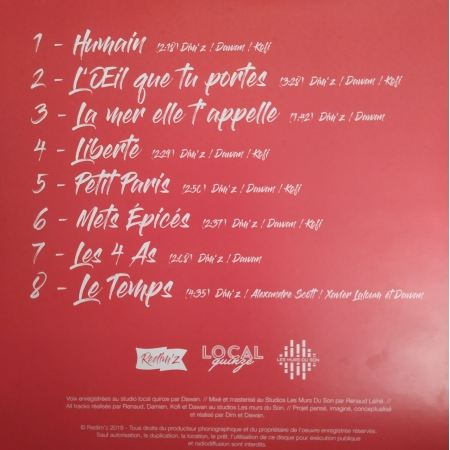 Album Vinyle Redim'z - Liberté