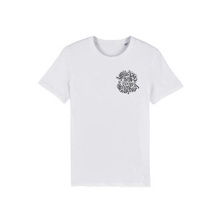Tshirt Blanc Scred Loubard X Xane