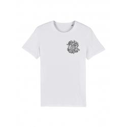 Tshirt Blanc Scred Loubard X Xane de scred connexion sur Scredboutique.com