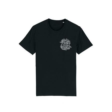 Tshirt Noir Scred Loubard X Xane