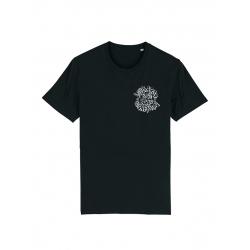 Tshirt Noir Scred Loubard X Xane de scred connexion sur Scredboutique.com