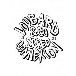 Sweat Capuche Gris Scred Loubard X Xane de scred connexion sur Scredboutique.com