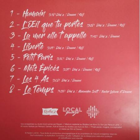 Album Cd Redim's - Liberté