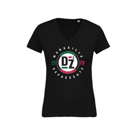Tshirt femme DZ2 Marseille Represente
