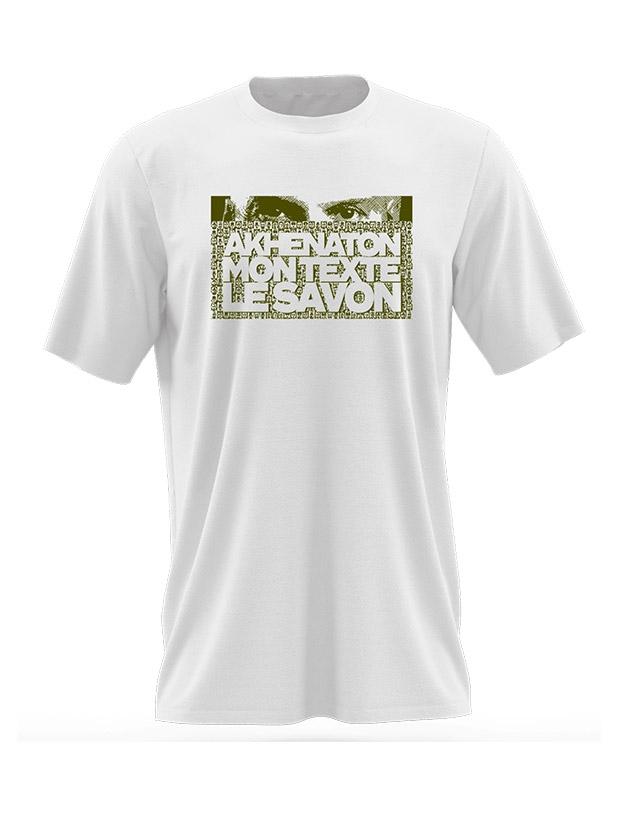 Tshirt IAM Mon Texte le savon de iam sur Scredboutique.com