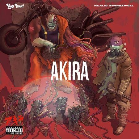 Album Cd Kyo Itachi & Realio Sparkzwell - Akira