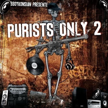 Album Cd BBoyKonsian présente - Purists Only 2