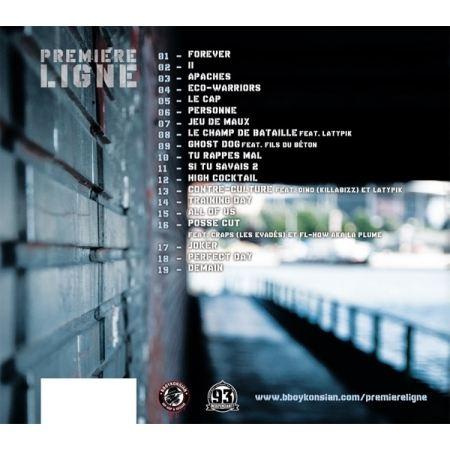 Album Cd Première Ligne II