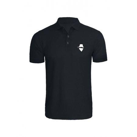 Polo Noir Visage