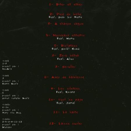 """Album Cd """"BigMak - Levée de..."""