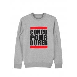 Sweat Concu pour durer de anonymous label sur Scredboutique.com
