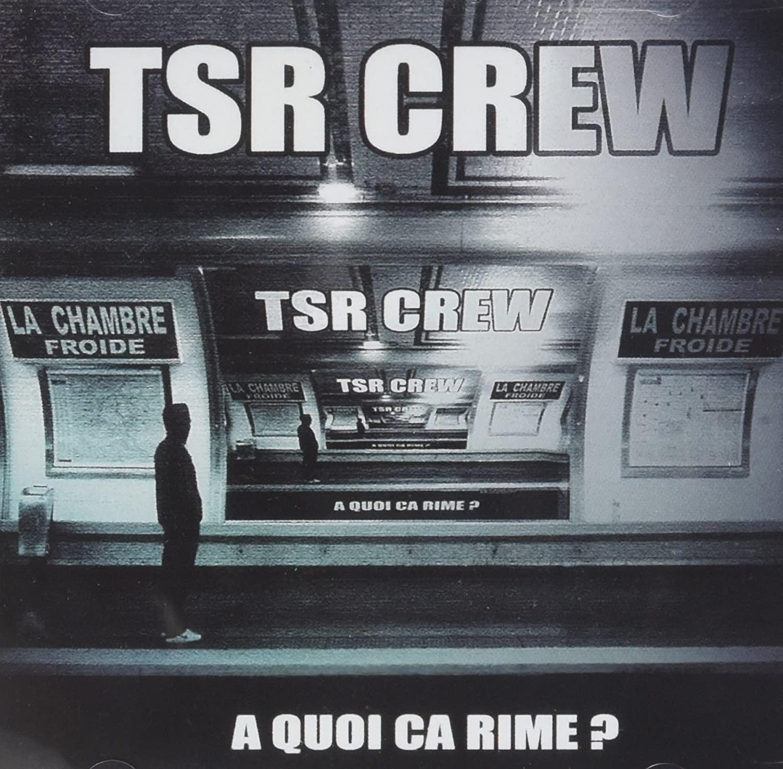 "ALBUM CD TSR CREW ""À QUOI ÇA RIME"" de hugo ( tsr crew) sur Scredboutique.com"