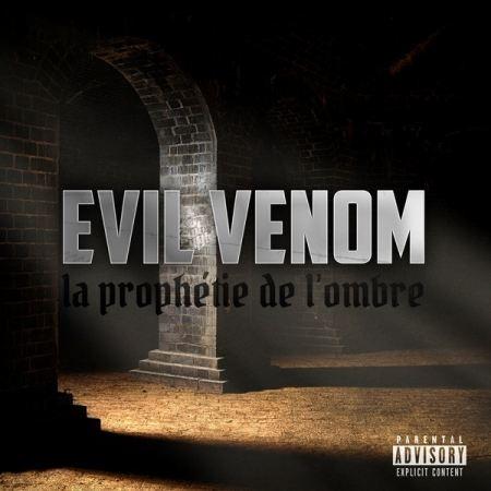 "ALBUM CD EVIL VENOM "" LA PROPHÉTIE DE L'OMBRE """