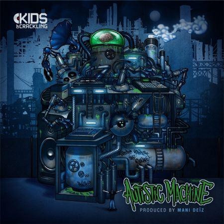 """ALBUM CD MANI DEÏZ """"AUTISTIC MACHINE """""""
