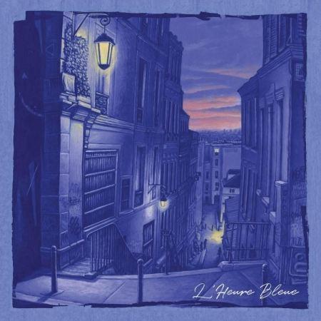 "ALBUM VINYLE KERJO STYLE "" L'HEURE BLEUE """